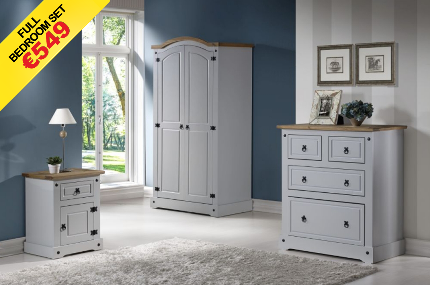 Bedroom packages for sale in dundalk co louth for Bedroom furniture packages sale