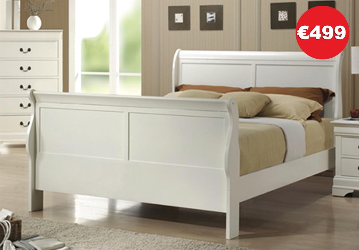 Louis Philippe Bedroom Range White_prices3