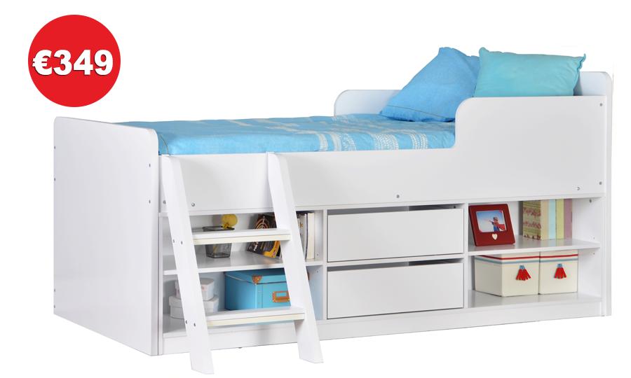 felix low sleeper the bed store. Black Bedroom Furniture Sets. Home Design Ideas